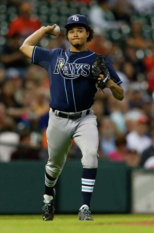 Tampa Bay Rays starting pitcher Chris Archer will go against the Astros in Sunday's series finale at Minute Maid Park. Photo: Karen Warren, Staff / © 2015 Houston Chronicle