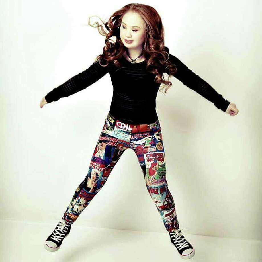 Madeline Stuart is challenging the way people see Down Syndrome and the standard image of perfection. Photo from Madeline Stuart's Facebook