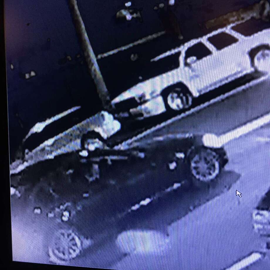 Shelton police are asking for the public's help to locate the driver of a black car seen near a hit and run accident on Aug. 14, 2015. A bicycle rider, injured in the accident, is still hospitalized. Photo: /