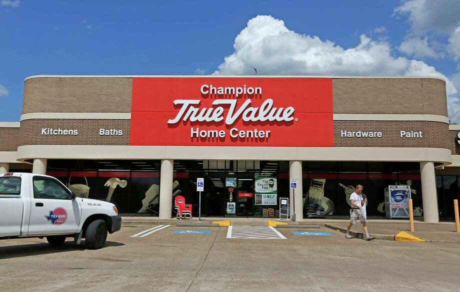 Jan Sjoholm exits True Value in Spring. The location offers an example of a fresh update for the decades-old branded hardware store chain. Photo: Steve Gonzales, Staff / © 2015 Houston Chronicle