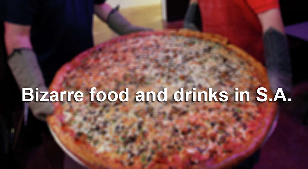 Food and drinks that no one would believe existed unless you took a photo, click through this slideshow.