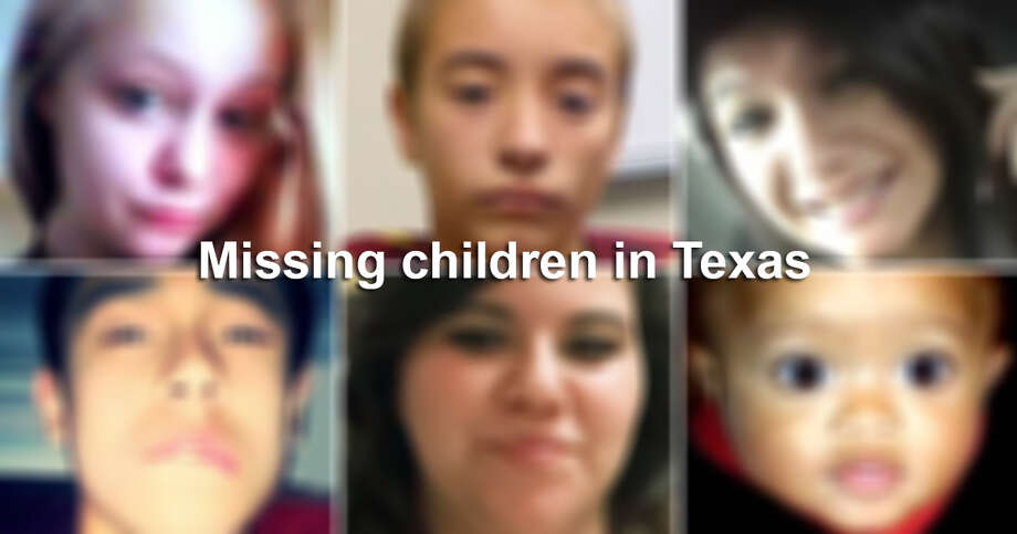 The number of unsolved cases of missing children in Texas now totals 164, according to theTexas Department of Public Safety's online database of missing persons. Photo: Courtesy Photos