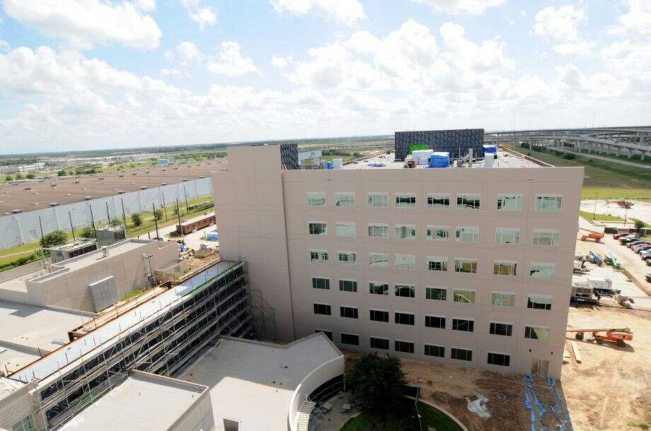 A second medical plaza is being finished and a patient tower is opening in December for Memorial Hermann Hospital Katy Photo: Memorial Hermann Hospital Katy