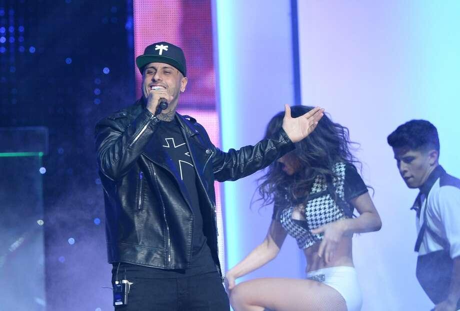 Popular Latin singer Nicky Jam brings his big reggaeton hits to town this weekend.