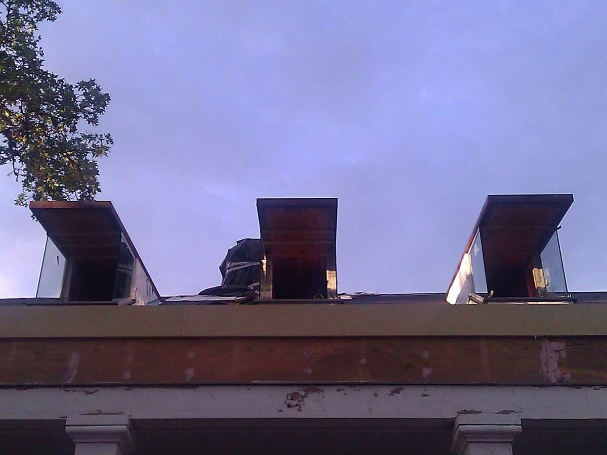 Before: Dormer windows were added to the 1935 home.