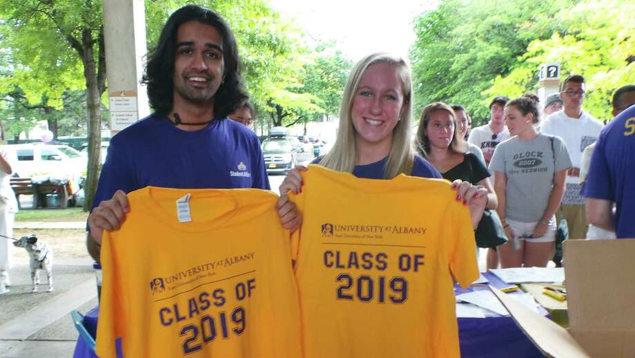 Were you Seen during Move-In Day at UAlbany on Friday, Aug. 21, 2015? Photo: University At Albany Photography