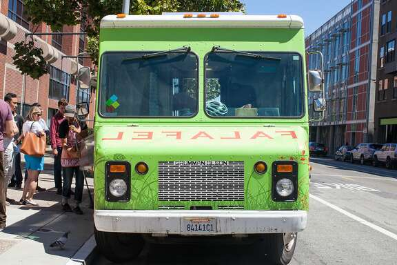 The Liba Falafel food truck in San Francisco, Calif., on Thursday, August 13, 2015.