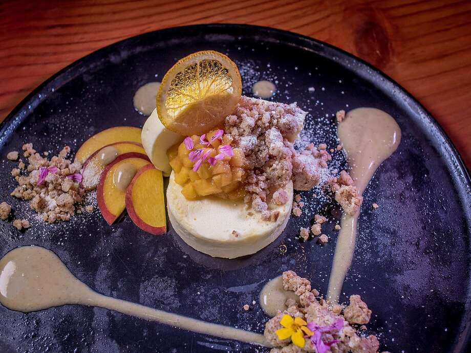 Mascarpone semifreddo ($12) at Dirty Water in S.F. Photo: John Storey, Special To The Chronicle