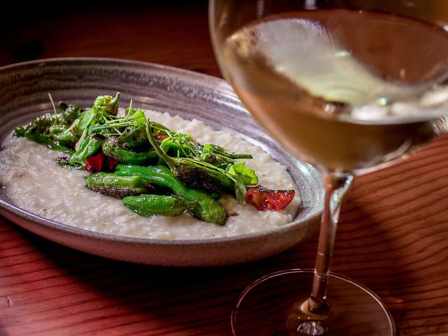 The charred shishito and padron Peppers at Dirty Water in San Francisco. Photo: John Storey, Special To The Chronicle