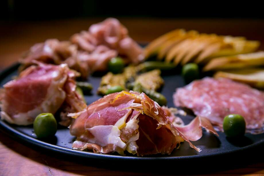 Charcuterie platter at Dirty Water in San Francisco. Photo: John Storey, Special To The Chronicle