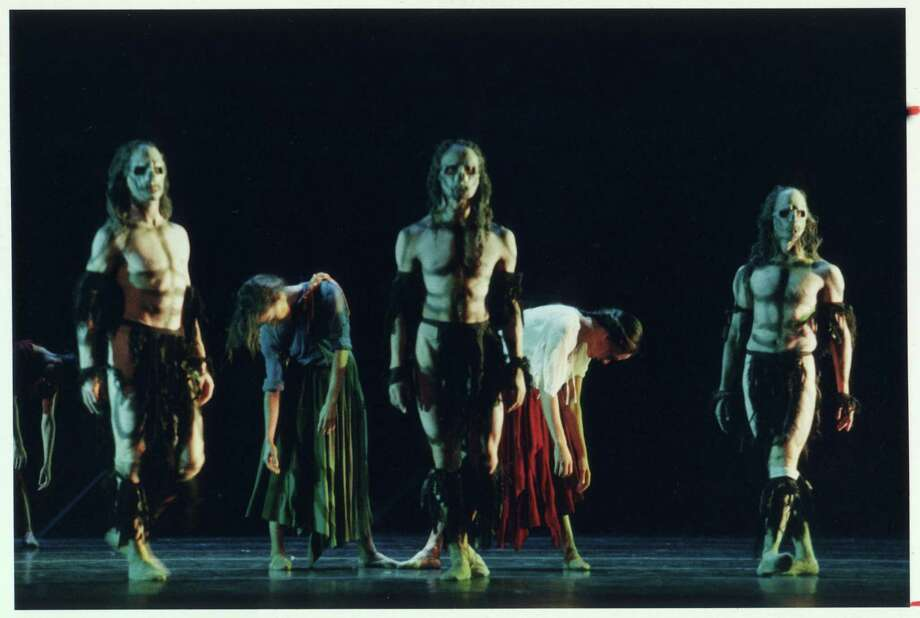 "Houston Ballet revives Christopher Bruce's haunting ""Ghost Dances"" Sept. 24-Oct. 4. Photo: Geoff Winningham / Handout"