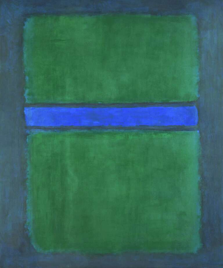 "Among works that will be on view Sept. 20 - Jan. 24 in the exhibition ""Mark Rothko: A Retrospective"" at the Museum of Fine Arts, Houston is this untitled canvas from 1957 (oil on canvas, National Gallery of Art, Washington, Gift of The Mark Rothko Foundation, Inc. Â 1998 by Kate Rothko Prizel and Christopher Rothko) Photo: National Gallery Of Art"