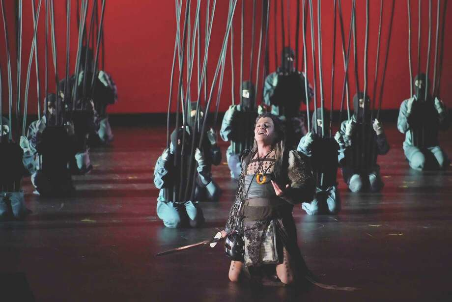 """""""Siegfried"""" will continue Houston Grand Opera's first staging of Wagner's """"Ring"""" Cycle. Photo: Palau De Les Arts Reina Sofia"""