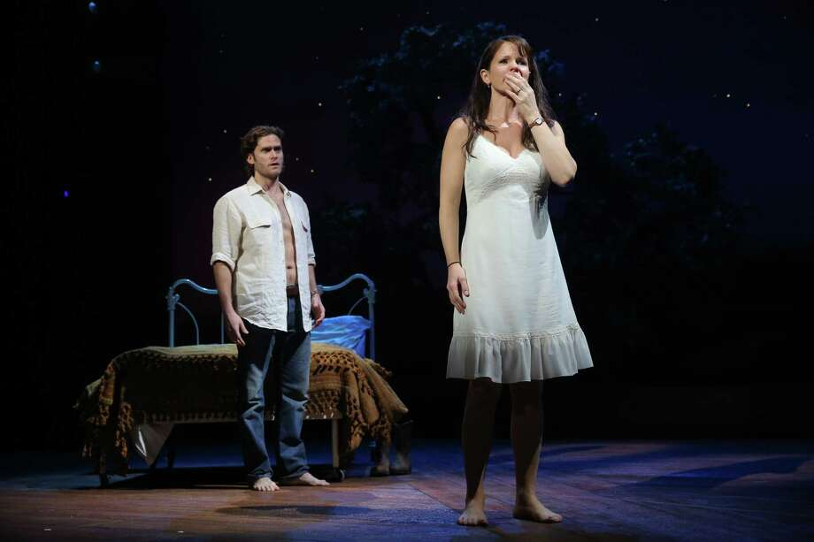 """Steven Pasquale and Kelli O'Hara starred in the 2014 Broadway production of """"The Bridges of Madison County."""" Photo: Joan Marcus / ONLINE_YES"""