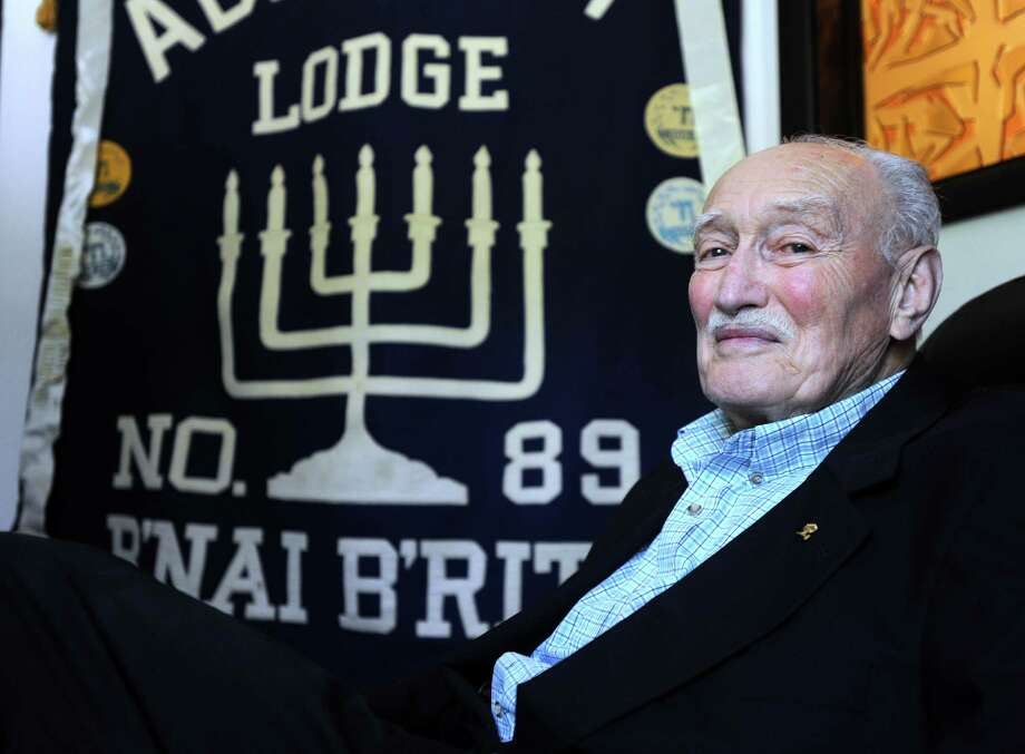 Charles Donen, president and long-time member of the Bridgeport B'nai B'rith chapter, reflects on his years with the Jewish service organization, first in Norwalk until that branch closed, then B'nai B'rith Abraham Lodge in Bridgeport, which is closing soon. Photo: Autumn Driscoll / Hearst Connecticut Media / Connecticut Post