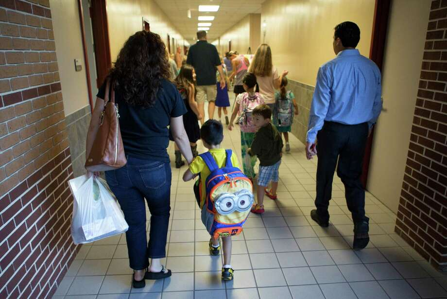 Every new school year begins with hope and excitement. But for some children, it also can be a time of fear and intimidation. Photo: Cody Duty, Staff / © 2014 Houston Chronicle