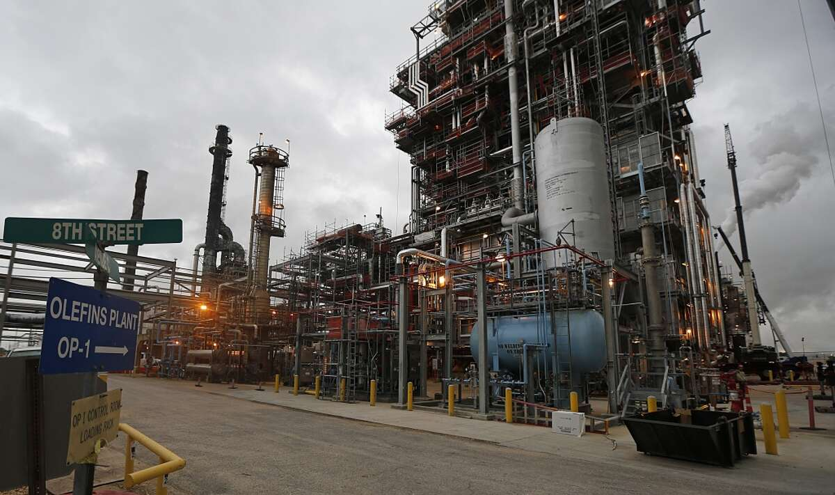 The Olefins Plant of LyondellBasell Chemical Company Friday, Aug. 21, 2015, in Channelview. ( James Nielsen / Houston Chronicle )