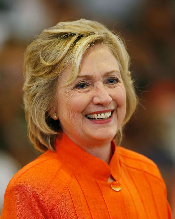 Democratic presidential candidate Hillary Clinton. Photo: Isaac Brekken, Getty Images