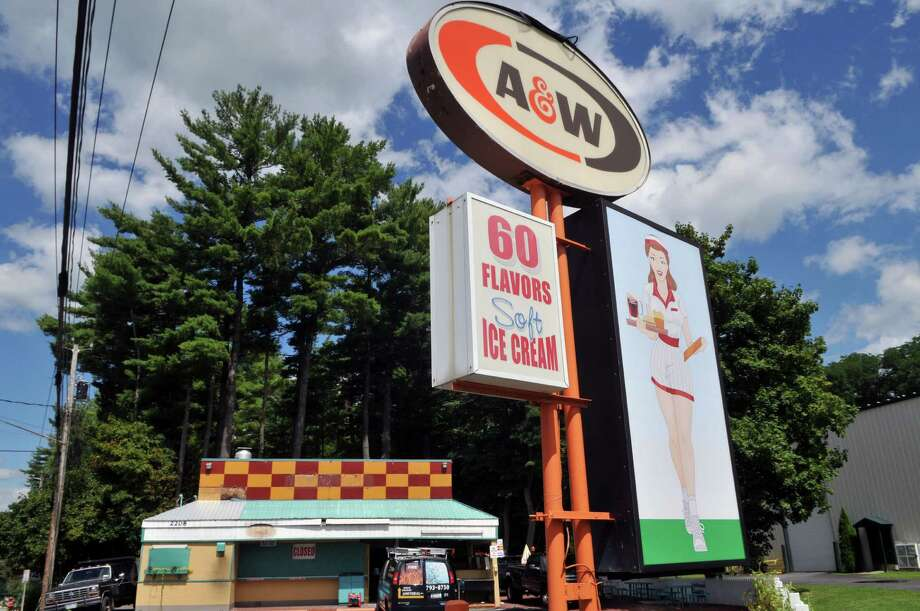 A view of the Lake George A&W root beer stand on Friday, Aug 21, 2015, on Route 9 in Lake George, N.Y. The stand, which first opened in 1959, was damaged by fire in July but will reopen by next May. (Phoebe Sheehan/Special to The Times Union) Photo: PS / 00033080A