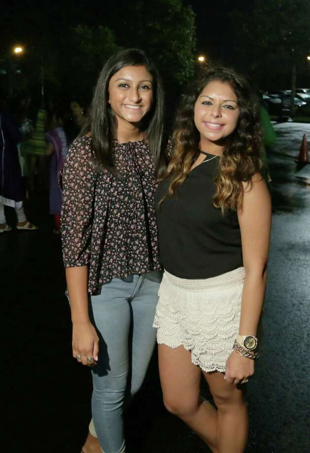Fans at the Bollywood Fusion concert Aug. 21 at NRG Arena. Photo: Jon Shapley, Houston Chronicle / © 2015 Houston Chronicle