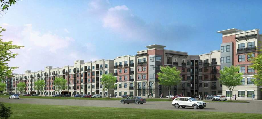 A rendering of The Millennium Kirby, a new Dinerstein rental project near the Texas Medical Center on Kirby near Main. Photo: Courtesy Of The Dinerstein Cos.