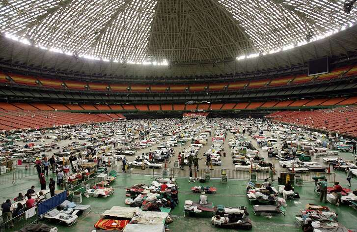 Thousands of New Orleanians fled their city after Hurricane Katrina's storm surge overtook the levees. For many, the Astrodome was their first respite.