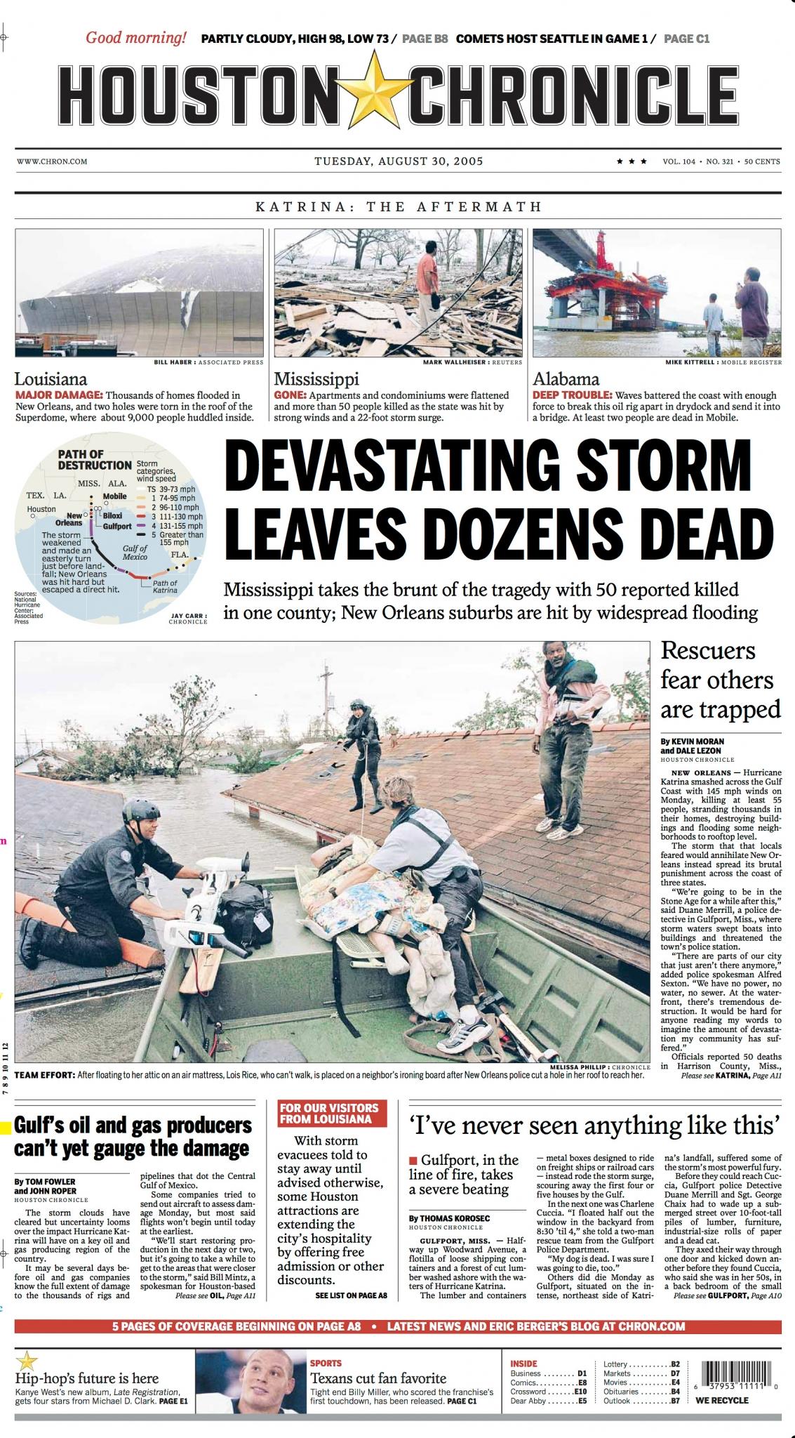 Hurricane Katrina: 10 years later | HoustonChronicle.com ...