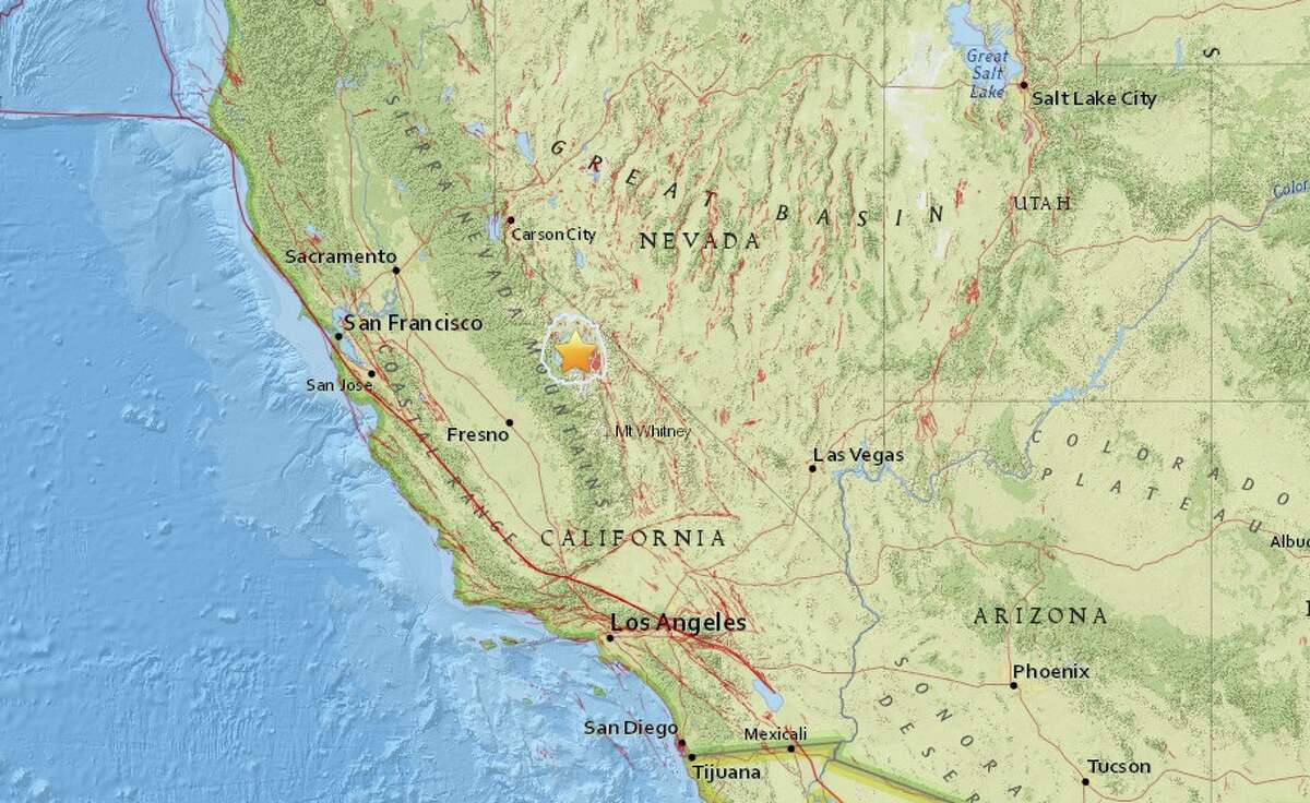 A 4.0 magnitude quake struck east of Mammoth Lakes Saturday, August 22nd, 2015