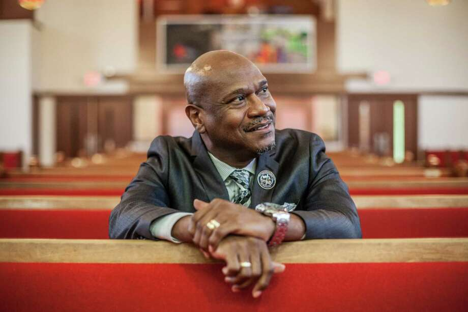 Pastor S. Lachlin Verrett says his four children are thriving in Texas and they are never returning to New Orleans. Photo: Michael Starghill, Jr., Photographer / © 2015 Michael Starghill, Jr.