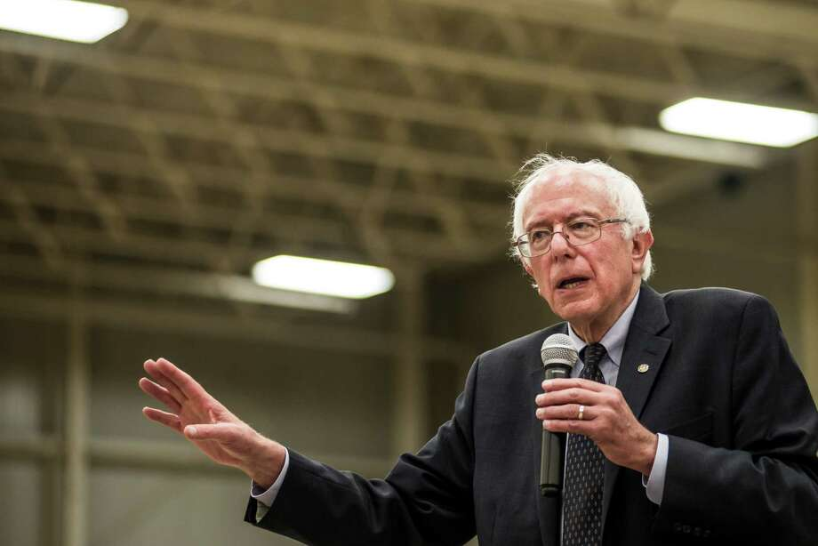 Sen. Bernie Sanders (I-Vt.) speaks to voters in Sumter, S.C., Aug. 22, 2015. If Sanders, who is climbing in polls, hopes to broaden his support and be more than a footnote in the story of Hillary Rodham Clintoné¢Â€Â™s road to the Democratic nomination, he must demonstrate a capacity to draw support from African-American voters. (Sean Rayford/The New York Times) Photo: SEAN RAYFORD, STR / NYTNS