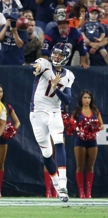 QUARTERBACKSBrock Osweiler, Denver (pictured)Ryan Fitzpatrick, New York JetsRobert Griffin III, released, WashingtonChase Daniel, Kansas CityDrew Stanton, Arizona Photo: Karen Warren, Houston Chronicle / © 2015 Houston Chronicle