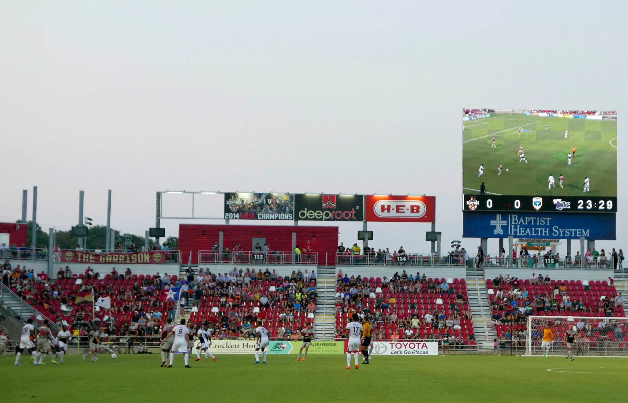 City County Spurs negotiating to purchase Toyota Field San