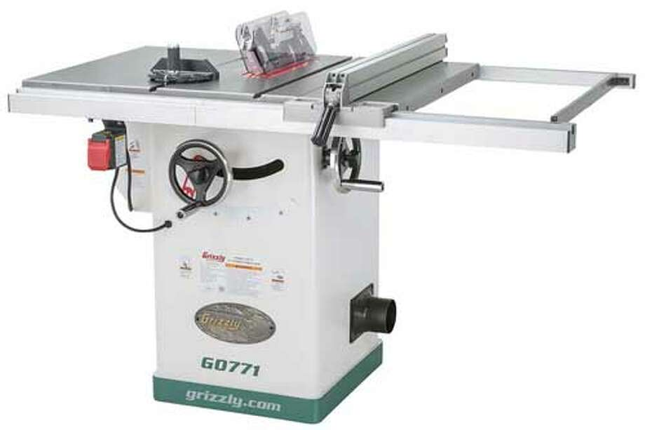 Grizzly table saws are being recalled. Photo: Courtesy Photo /U.S. Consumer Product Safety Commission