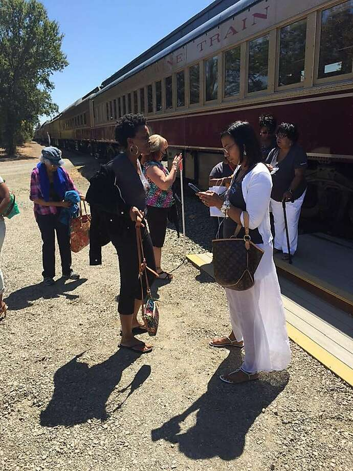 A group of African American women who are part of a book club were kicked off the Napa Valley Wine Train on Saturday. Photo: Lisa Johnson