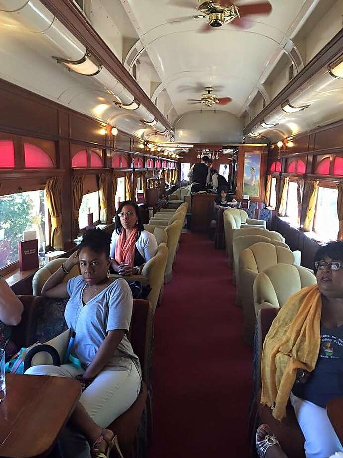 A group of African American women who are part of a book club were kicked off the Napa Valley Wine Train on Saturday, Aug. 22, 2015. Photo: Lisa Johnson