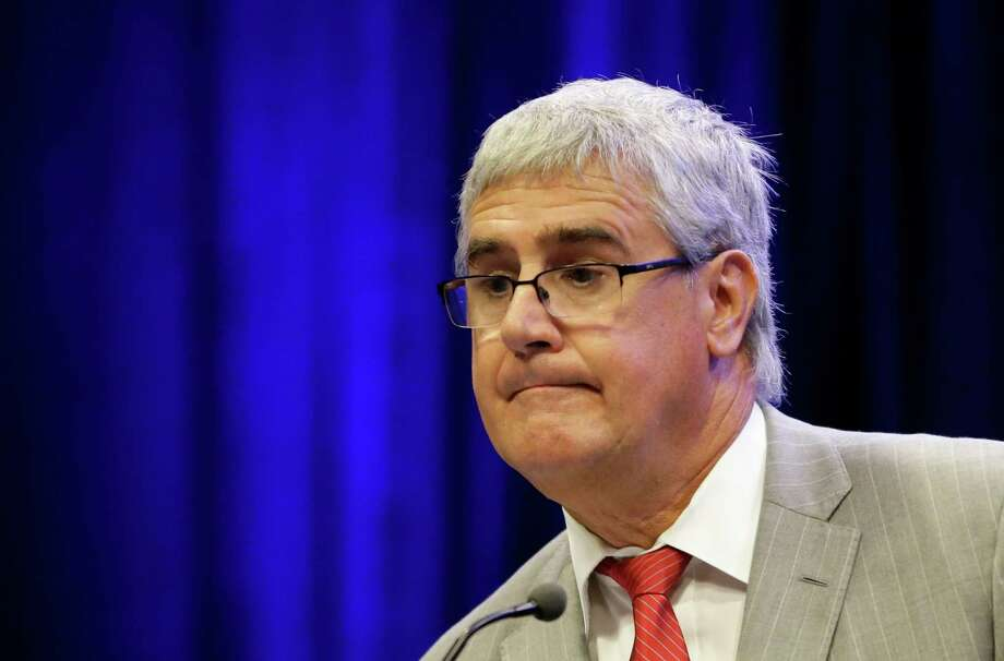 Jeff Ashton, Florida prosecutor of the Casey Anthony case, answers questions at a news conference Sunday, Aug. 23, 2015, in Orlando, Fla.  Ashton held a news conference after reports claimed he was a paid member of the cheating Ashley Madison.com website. (AP Photo/John Raoux) Photo: John Raoux, STF / AP