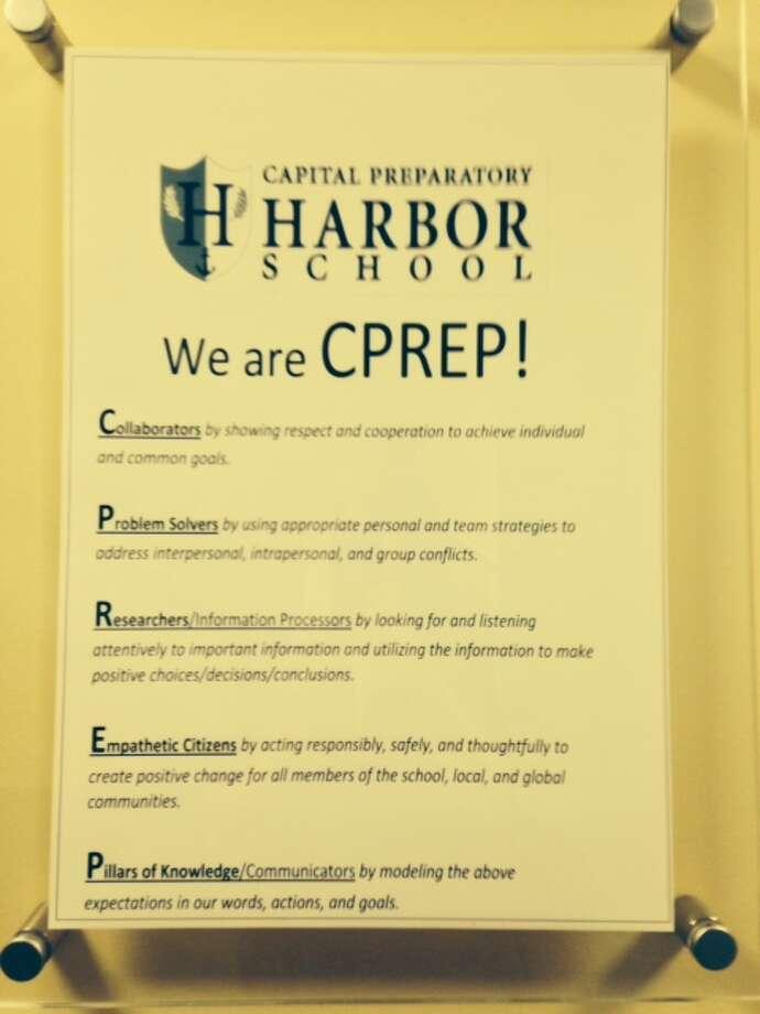 Capital Prep Harbor School, first day, August 24, 2015, Main Street Bridgeport Photo: Linda C Lambeck / Linda C Lambeck / Connecticut Post