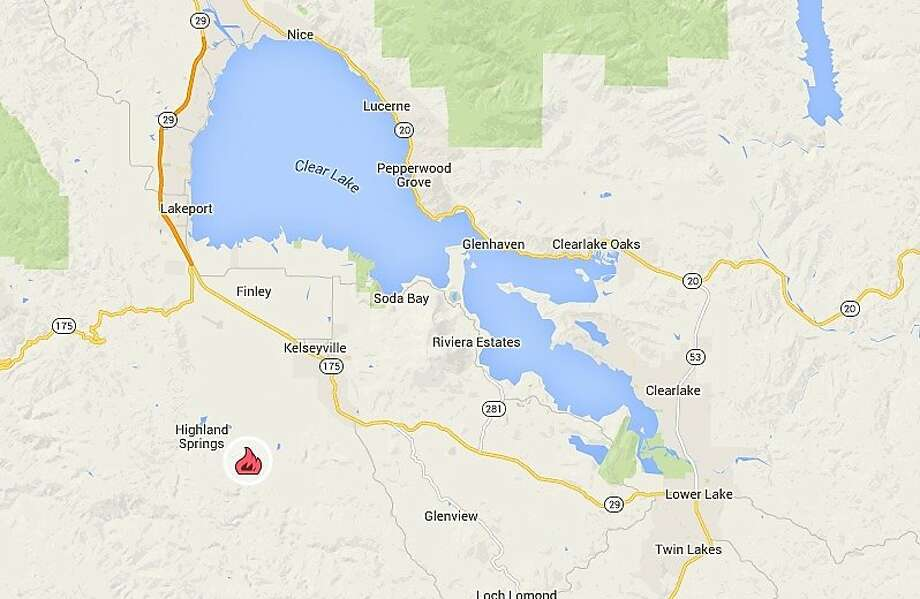 After Burning 215 Acres Lake County S Peterson Fire 30 Contained