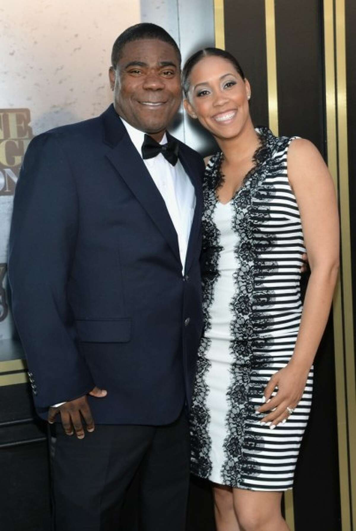 Tracy Morgan and Megan Wollover wed in 2015.