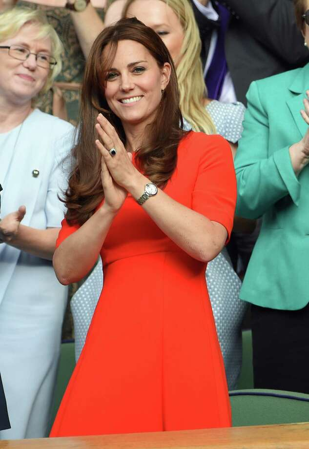 Duchess of Cambridge at Wimbledon just months after giving birth to her second child. Keep clicking to meet the women deemed more stylish than her.  Photo: Karwai Tang, Getty Images / 2015 Karwai Tang