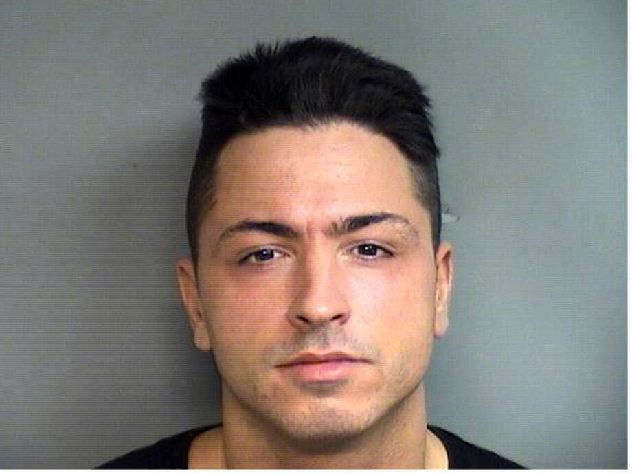 Gasmend Komonaj, 28, of Waterbury, turned himself in over the weekend after finding out that he had been charged with assault for breaking a South End waiter's jaw in Stamford, Conn. Photo: Stamford Police Department / Contributed Photo / Connecticut Post contributed