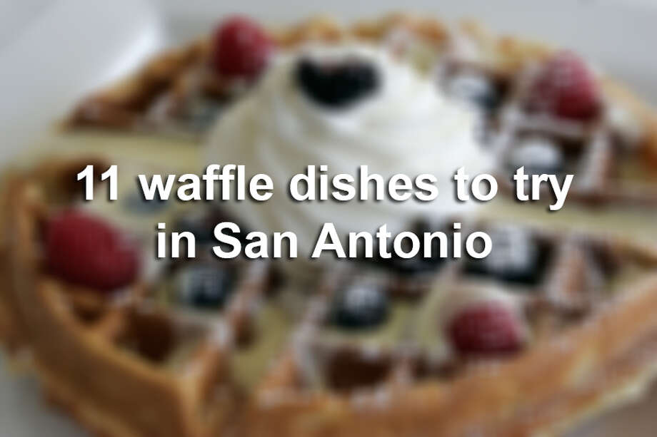 Aug. 24 is National Waffle Day, celebrating the U.S. patent of the waffle iron on this day in 1869. San Antonio has a lot of sweet breakfast waffles to choose from, as well as some savory ones. Where's your favorite waffle in San Antonio? Tell us in the comments below. Photo: J. MICHAEL SHORT, San Antonio Express-News