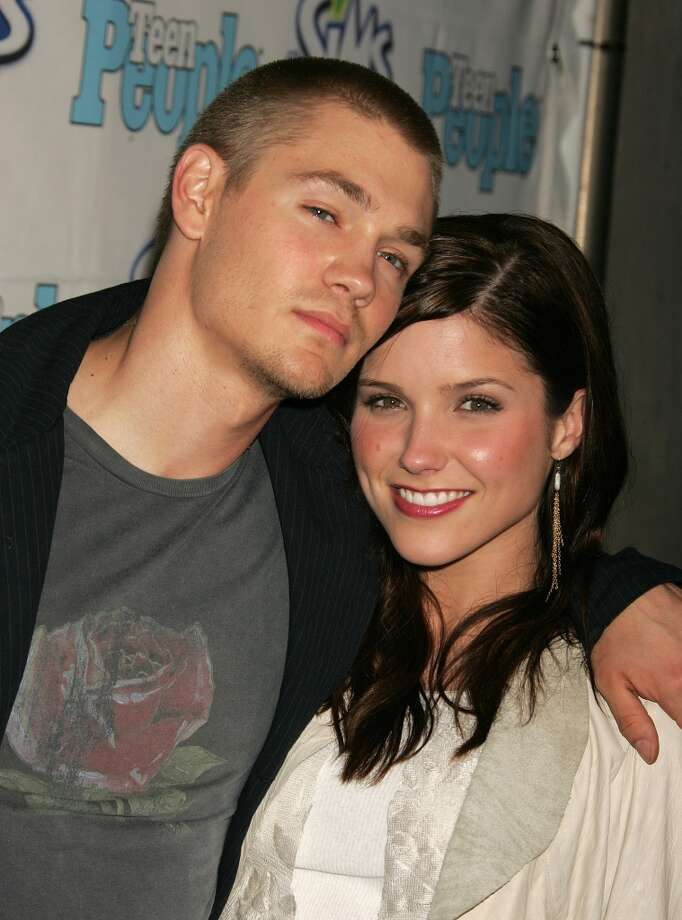 Chad Michael Murray and Sophia Bush are pictured in 2004. Photo: Jeffrey Mayer, WireImage