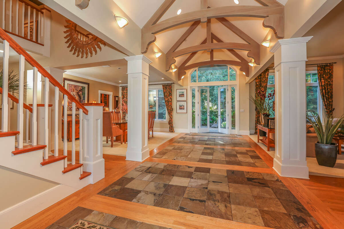 This estate in Carnation's Blakely Woods is on more than 2 acres. The full listing is here.