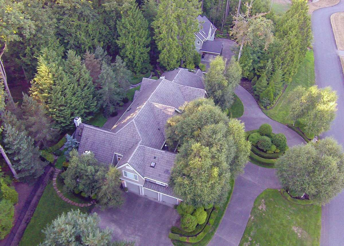 The property includes both a main house and a guest house. It's listed for $2.35 million.