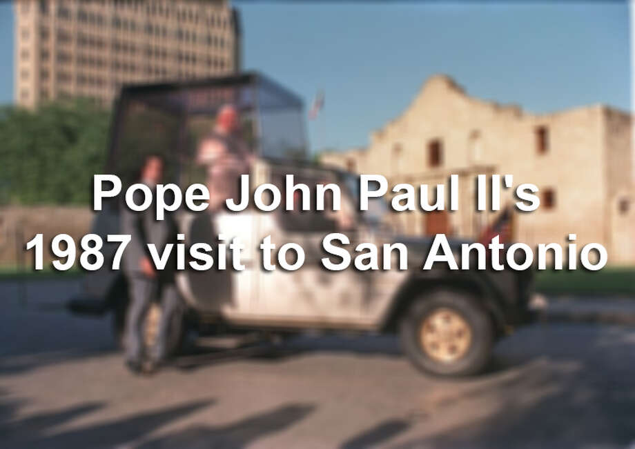 Pope John Paul II visited San Antonio in September 1987. The estimated 350,000-plus people who celebrated Mass with the pope during that visit stands as a Texas record for an audience at a single event. Here's a look back at his historic visit.