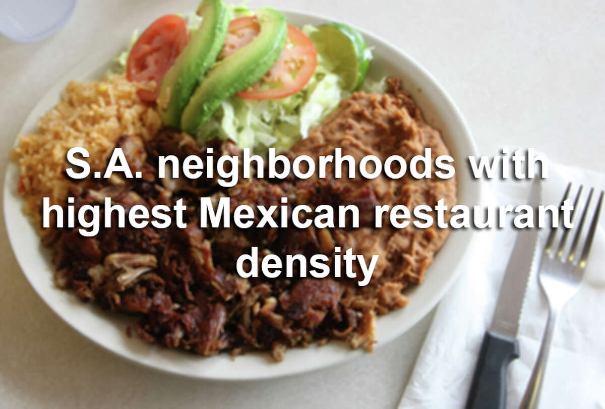 These neighborhoods are staking their claim to being the Mexican food capital of San Antonio.