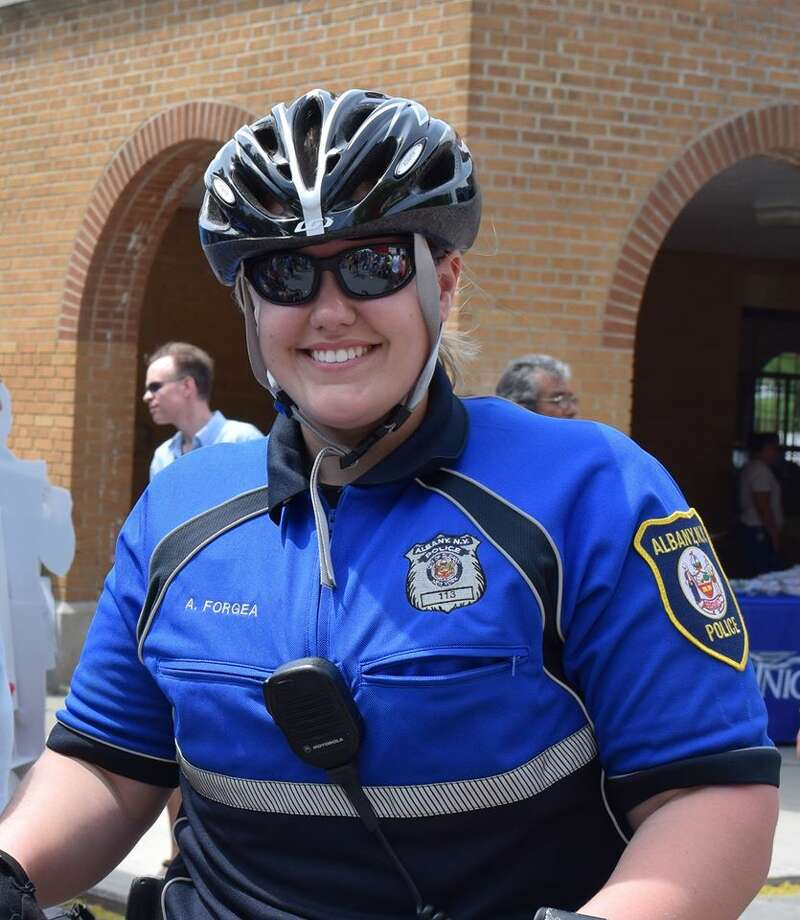 Albany Police Officer Amy Forgea (Photo from Facebook)