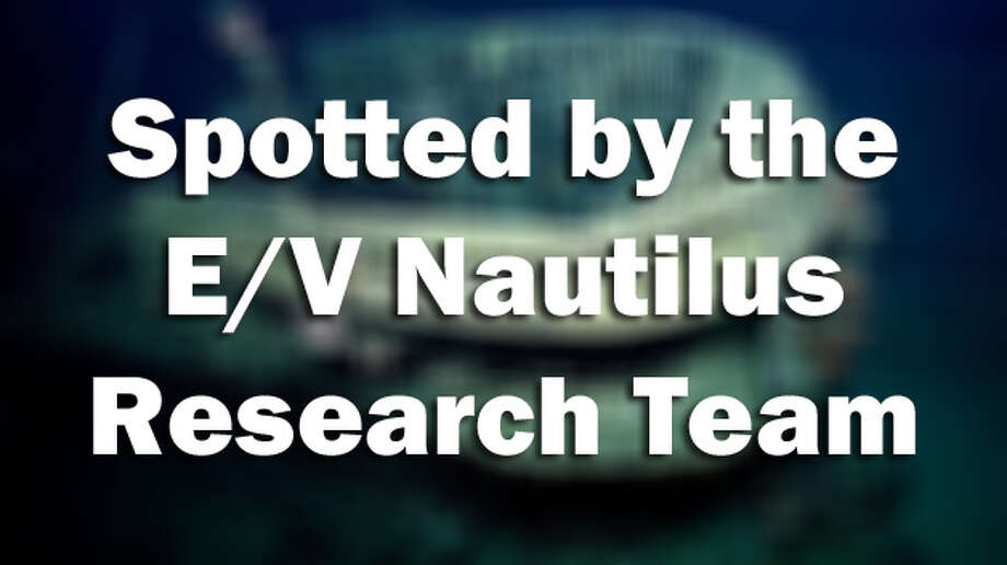 The research team above the E/V Nautilus has been exploring underwater sites in both the Atlantic and Pacific Ocean as part Ocean Exploration Trust.