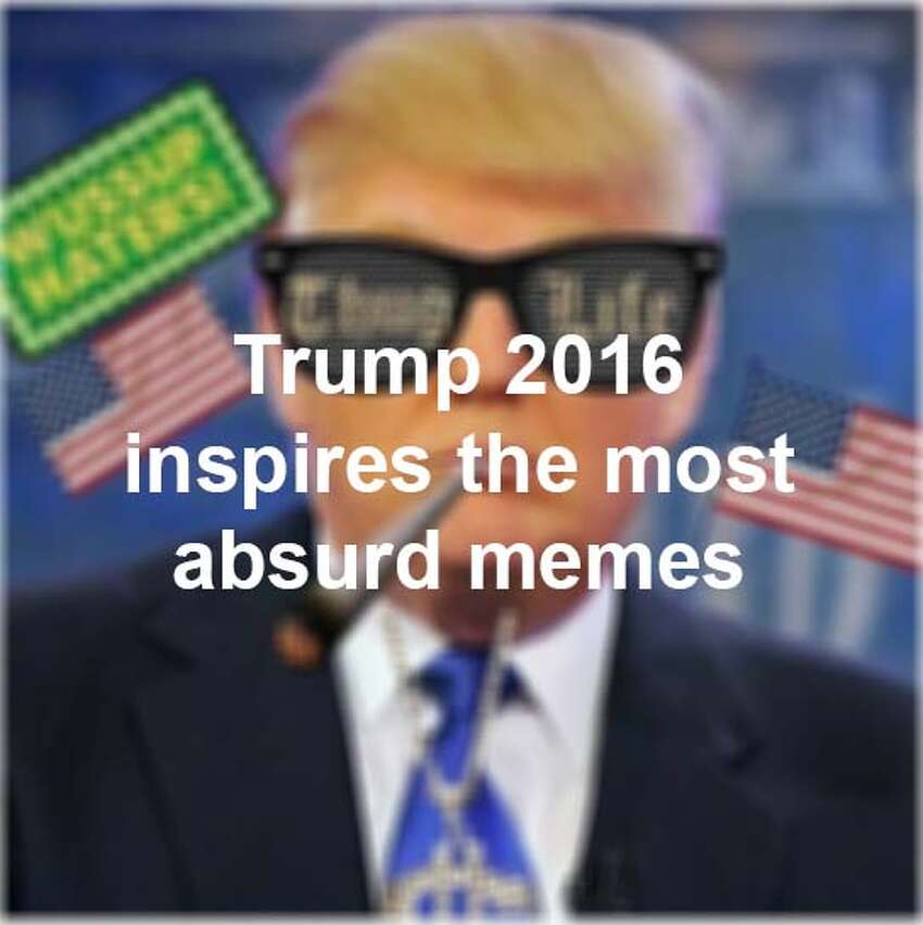 From his iconic comb-over to his insanely brash one-liners, Donald Trump's run for president is generating some epic memes across the Internet.